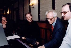 The lesson with Natalia Sawoscianik in March 2000 (admitted to the 14th International F.Chopin Piano Competition in Warsaw in 2000).
